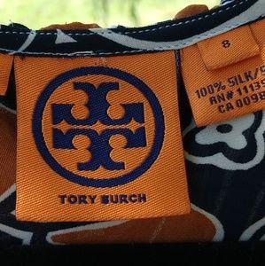Tory Burch Silk Top Size 8